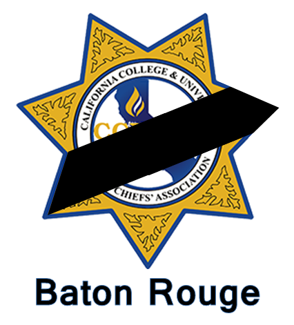 Baton Rouge memorial badge